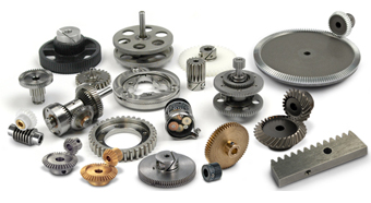Small Mechanical Components: Precision Gears, Timing Belts
