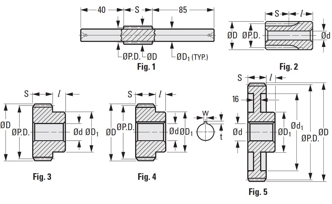 Metric Spur Gears Module 3 | SDP/SI