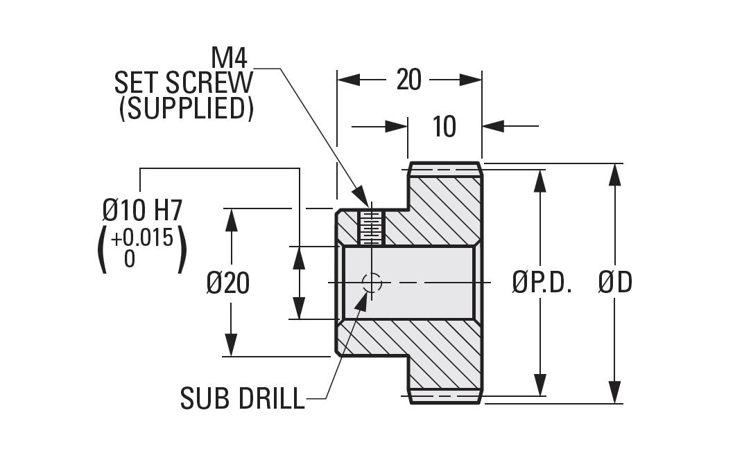 Metric Spur Gears Module 1 25 and 1 5   SDP/SI